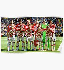 Póster Croacia World Cup Inicio