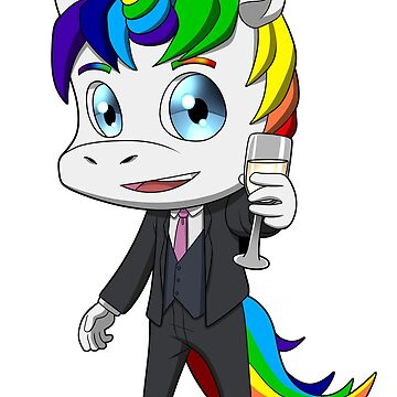 Gay Pride Unicorn LGBT Lesbian by StedeBonnet