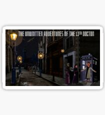 The 13th Doctor and the Paternoster Detective Agency Sticker
