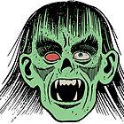 Zombie Face For Halloween Night by osamaandosama