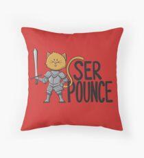 Ser Pounce Throw Pillow