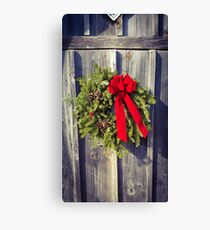 The Holly and the Ivy Canvas Print