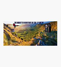 The Doctor and Dinosaur Valley Photographic Print