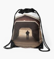 Silhouette Drawstring Bag