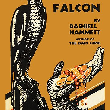 The Maltese Falcon Dashiell Hammet First Edition Cover by buythebook86
