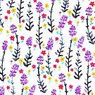 Gouache Lavender  by TigaTiga