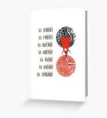 A Darker Shade of Magic Greeting Card