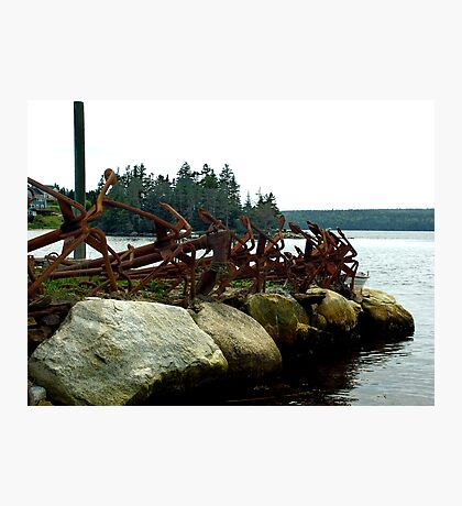 Anchors Ashore Photographic Print