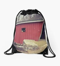 Covered Bridge Drawstring Bag