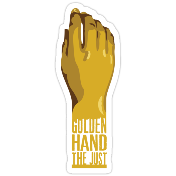 Golden Hand the Just by JenSnow
