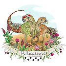 Psittacosaurus 'Dinos You Never Knew About'  by LukeMartinsArt
