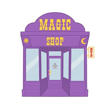 MUSIC BTS BANGTAN MAGIC SHOP by hslim