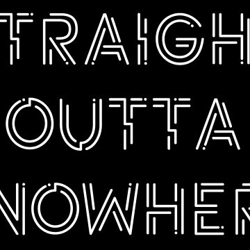 Straight Outta Knowhere by Eurozerozero