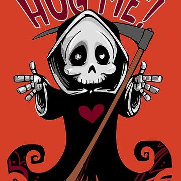 Grim Reaper Hug Me by StephanieBrock