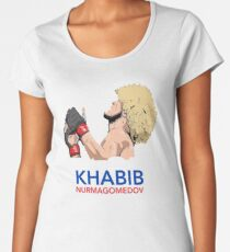 khabib nurmagomedov the eagle Women's Premium T-Shirt