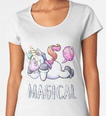 Magical Unicorn Fart Women's Premium T-Shirt