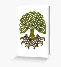 Celtic Yggdrasil - Tree of Life Greeting Card
