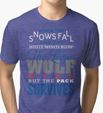The Lone Wolf Tri-blend T-Shirt