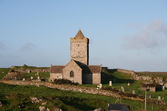 """""""St. Clement's Church, Rodel, Isle of Harris, Scotland"""" by ..."""