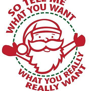 Santa Claus tell me what you want by tarek25