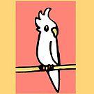 Cockatiel Illustration by parakeetart