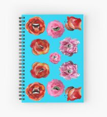 The Flowers of Evil  Spiral Notebook