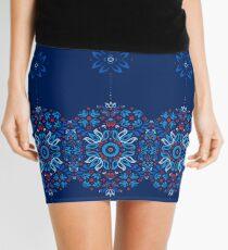 Folk Floral Tale Mini Skirt
