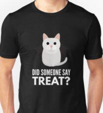 Munchkin Cat Halloween Trick or Treat Unisex T-Shirt