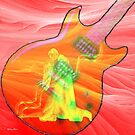 Spanish guitar-  Art + Products Design  by haya1812