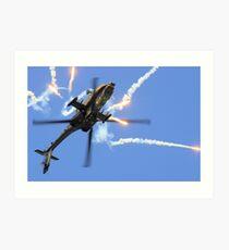 AH64 Apache Art Print