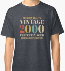 Retro Vintage 2000 Awesome 18th Birthday Gift Classic T-Shirt