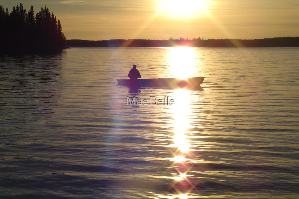 Framed in HIS Light ...on the water by MaeBelle