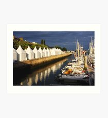 Lorient Evening Impression artistique