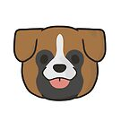 Boxer Face by ncdoggGraphics