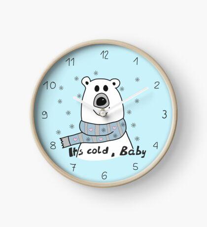 Eisenbär - It's cold Baby Uhr