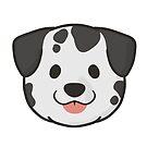Dalmatian Face by ncdoggGraphics