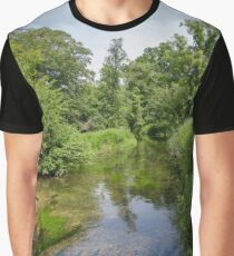Lake and trees Graphic T-Shirt