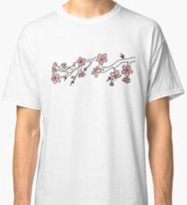 Japan Cherry Blossom Flowers Classic T-Shirt