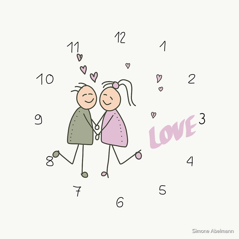 Liebespaar - Love von Simone Abelmann