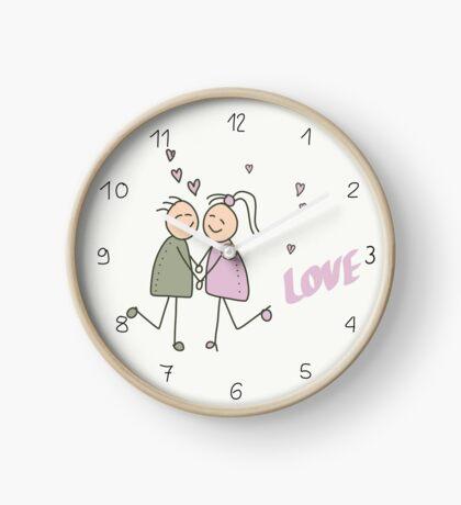 Liebespaar - Love Uhr