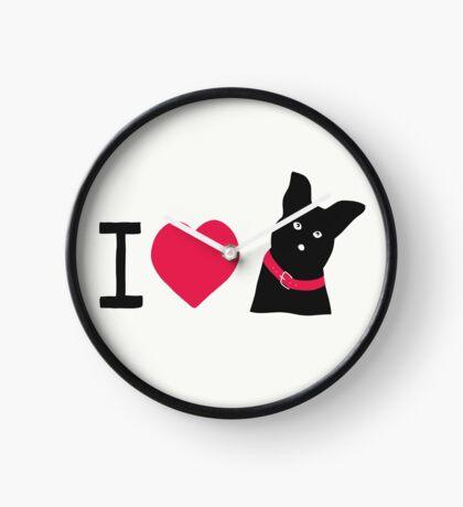 I love Dogs Uhr