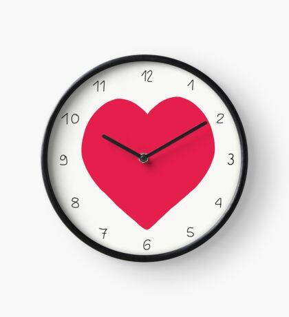 Herz, Heart Uhr
