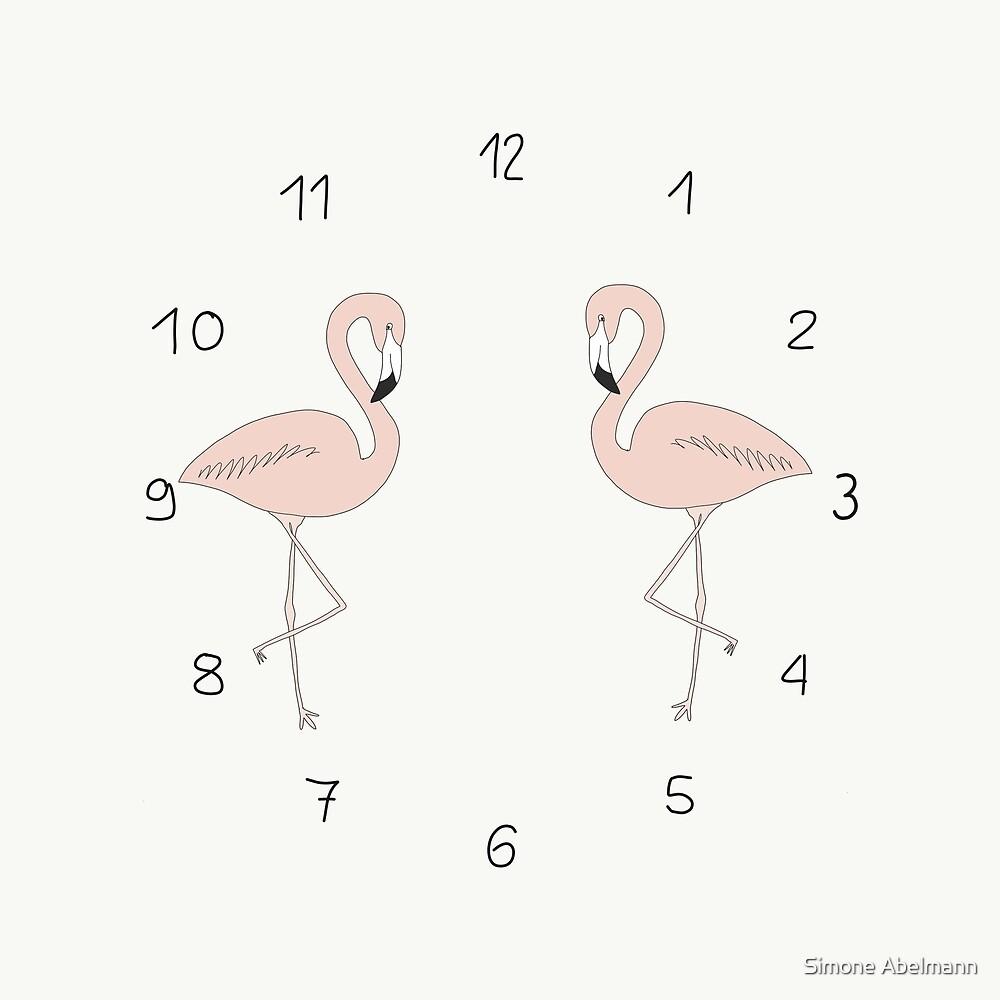Flamingo von Simone Abelmann