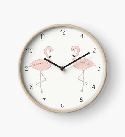 Flamingo Uhr