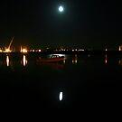 Moonlight at the Estuary by Martina Fagan