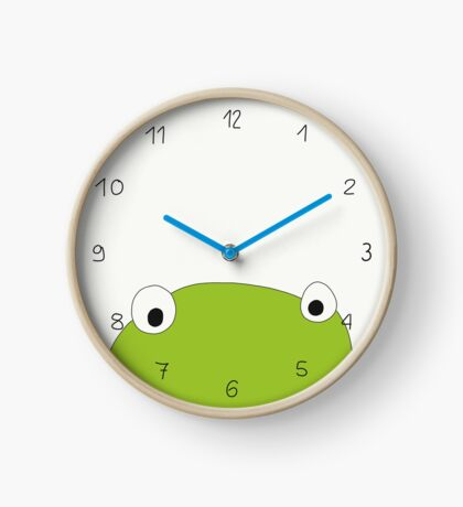 Frosch Uhr