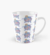 Sea Turtle - Aqua Blue Palette | Folk design Tall Mug