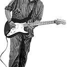 Eric Clapton by Marty Jones