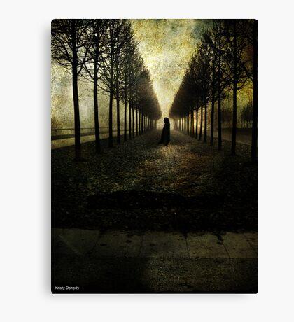 deaths walk Canvas Print
