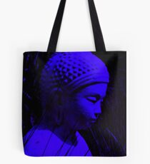 blue buddha Tote Bag